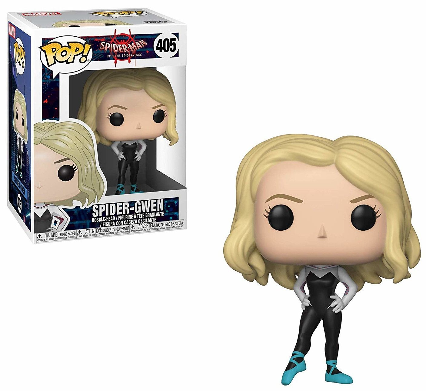 Фигура Funko POP! Spider-Man: Into the Spider-Verse - Spider-Gwen, #405 - 2