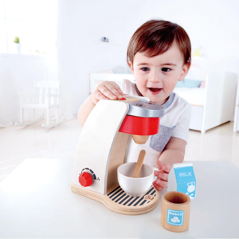 Дървена играчка Hape - Кафе машина - 3