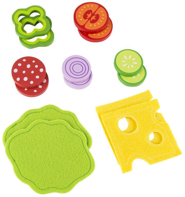 Игра Hape - Комплект сандвич - 1