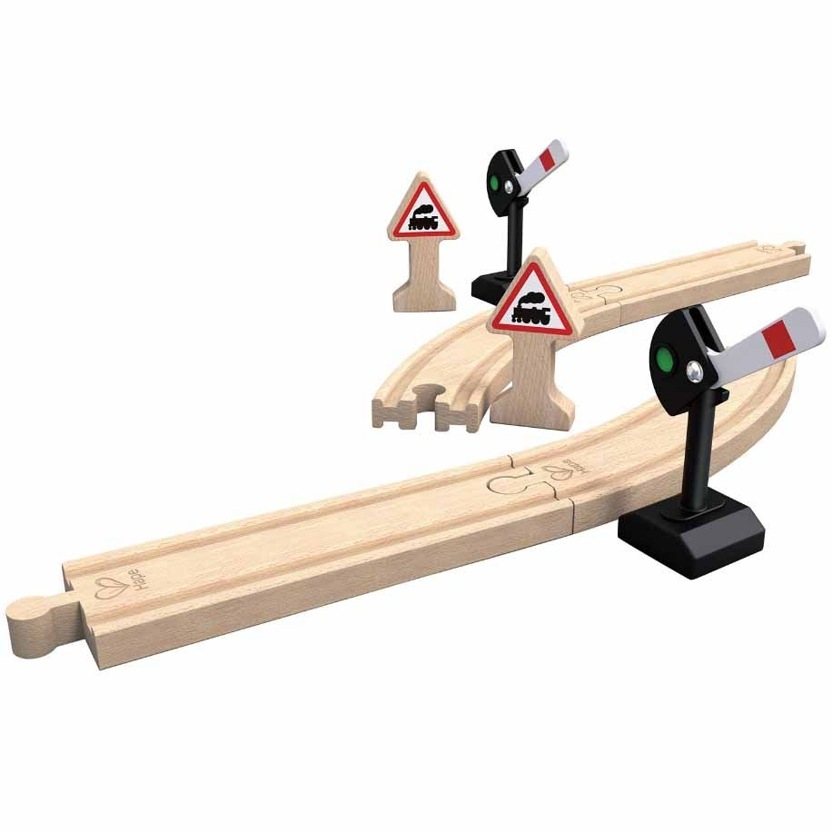 Игра Hape - Механични сигнални - 1