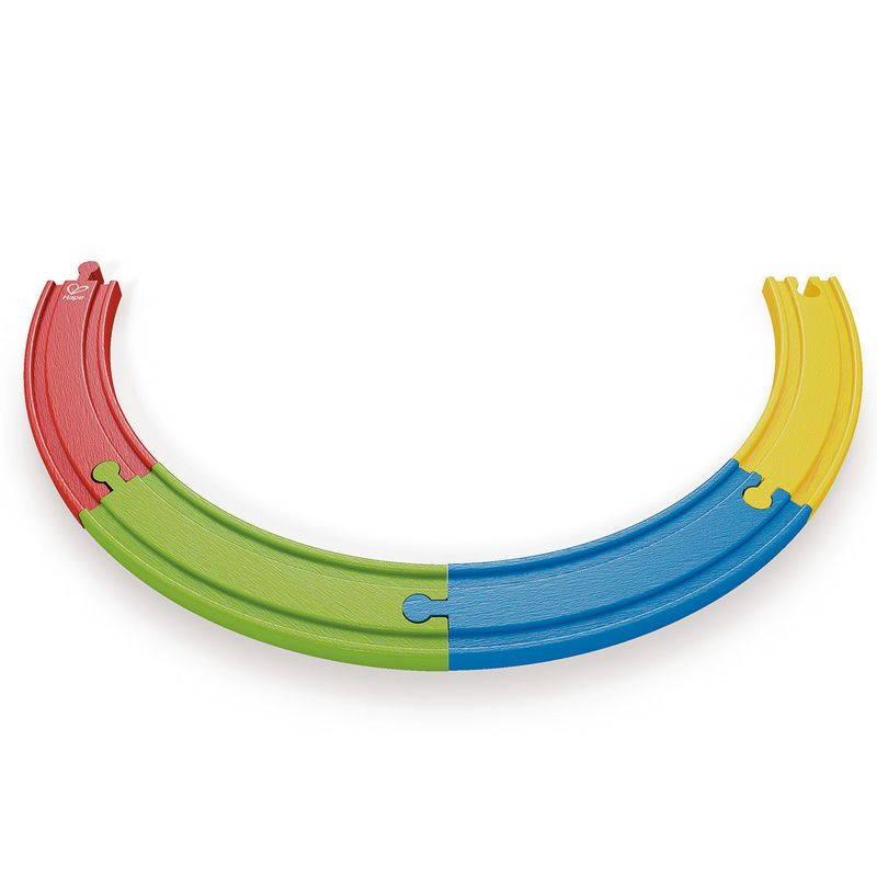 Дървена игра Hape - Дъгови линии, комплект - 1