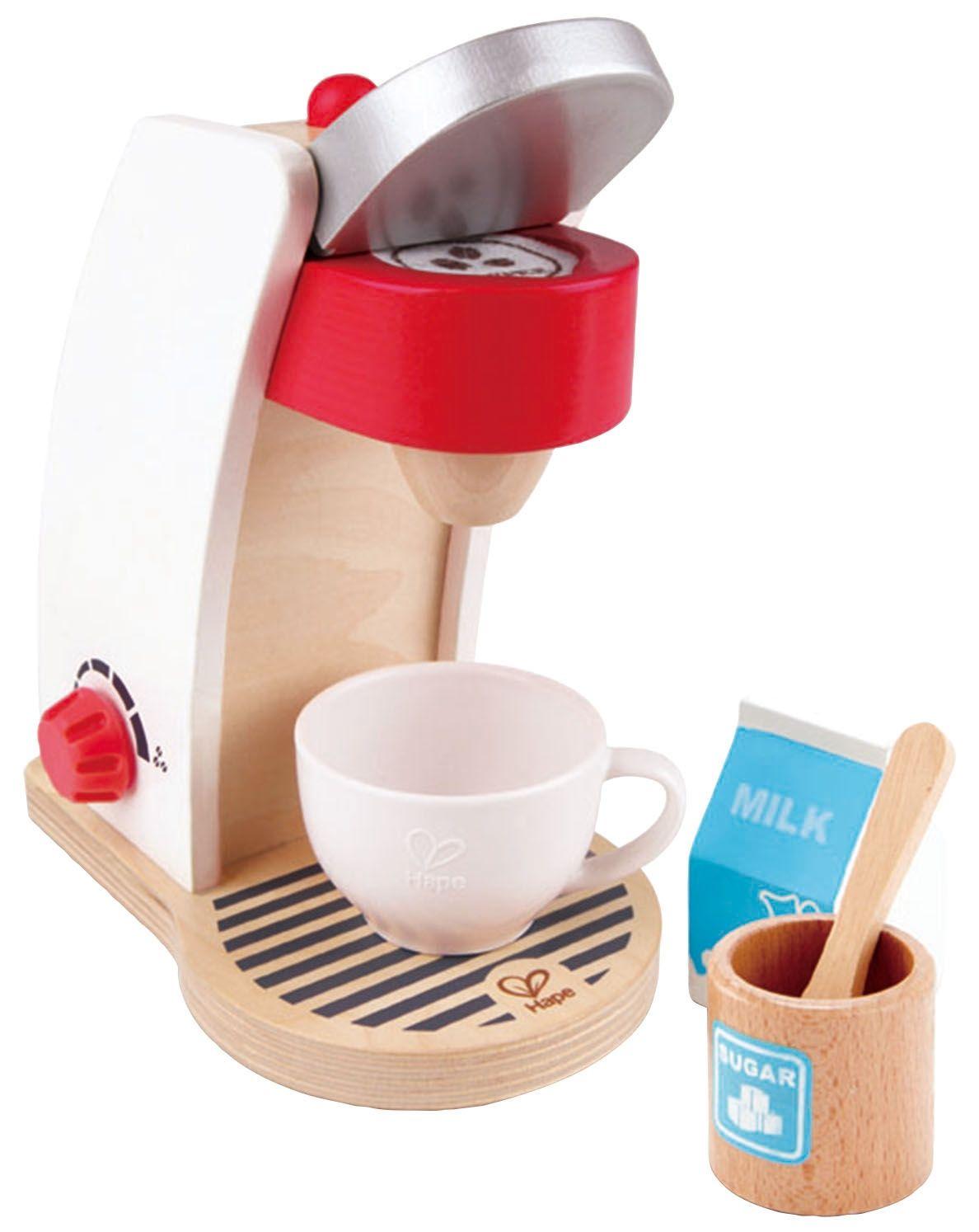 Дървена играчка Hape - Кафе машина - 1