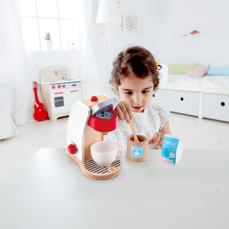 Дървена играчка Hape - Кафе машина - 4
