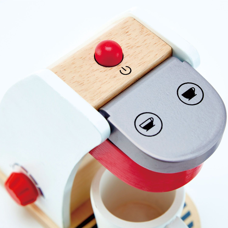 Дървена играчка Hape - Кафе машина - 2