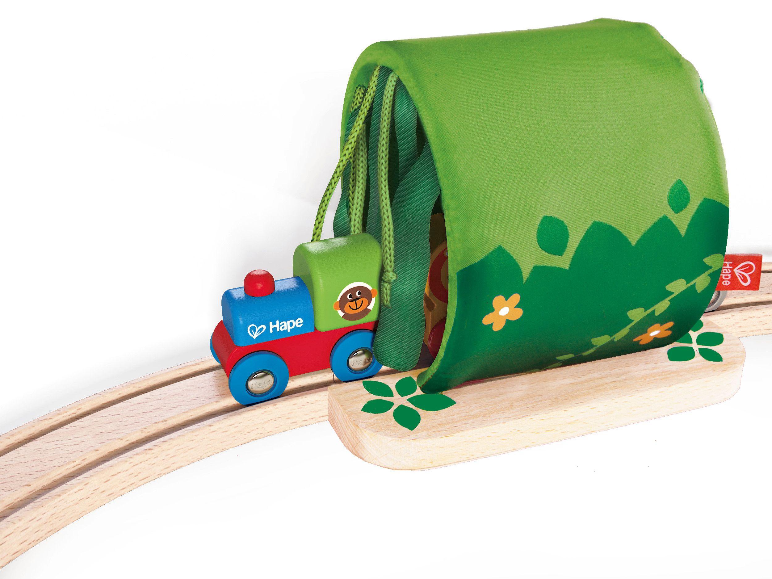 Игра Hape - Пътешествие с влак в джунглата - 5