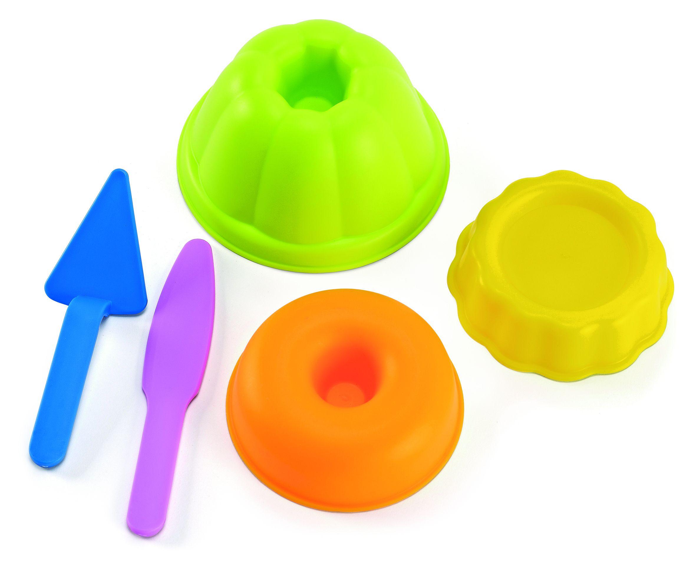 Пясъчна играчка Hape - Форми за печене, комплект - 1