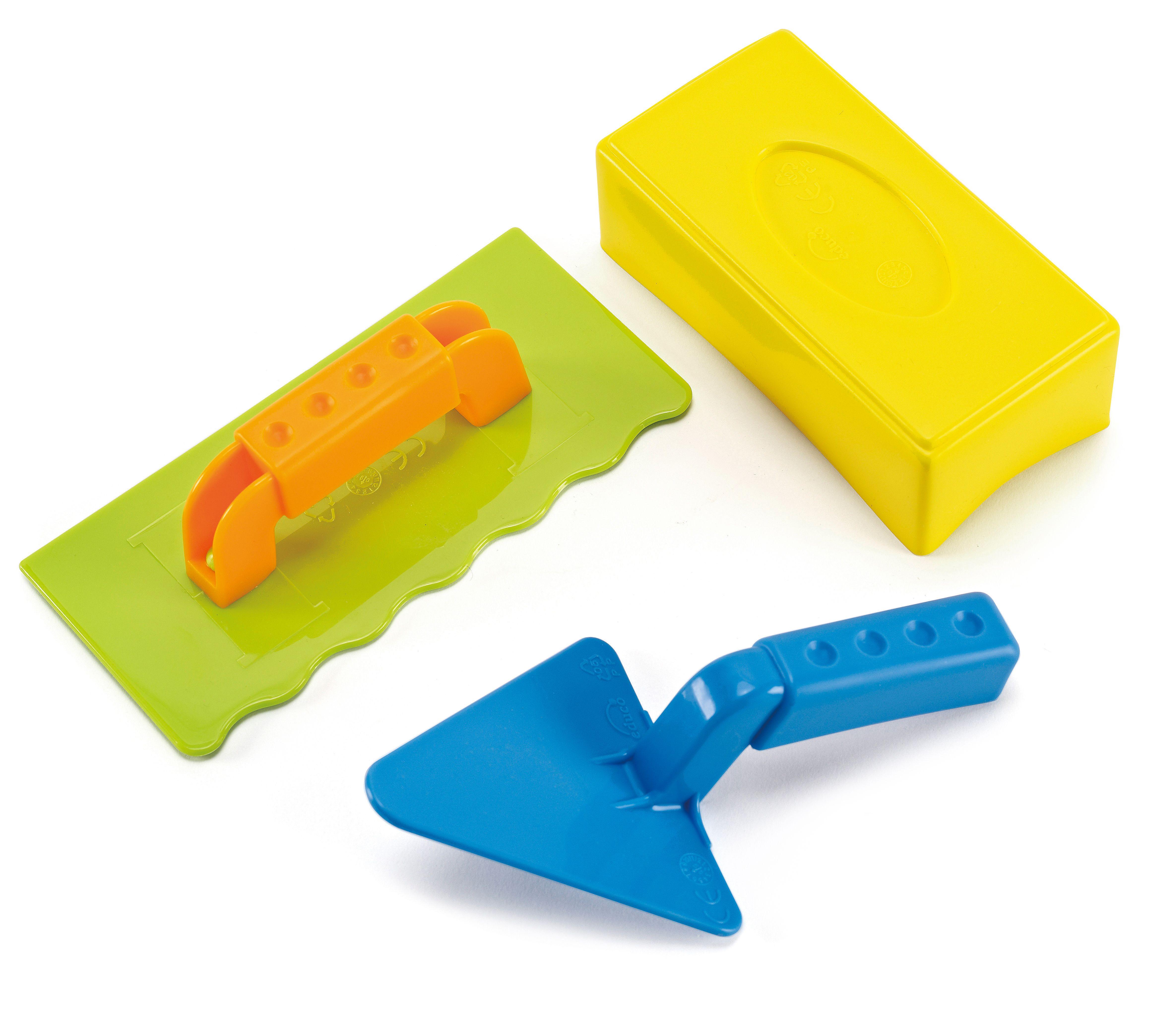 Пясъчна играчка Hape - Майстор зидар, комплект - 1