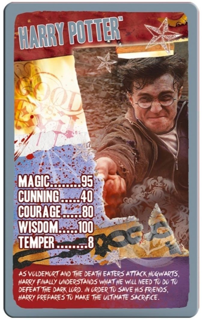 Игра с карти Top Trumps - Harry Potter and The Deathly Hallows Part 2 - 2