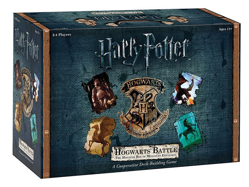 Разширение за настолна игра - Harry Potter Deck-Building - The Monster Box of Monsters - 1