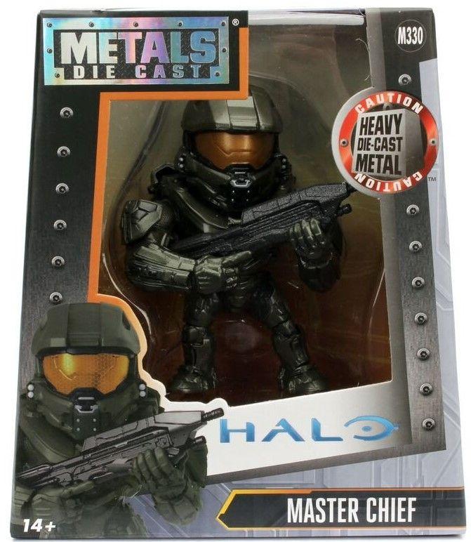 Фигура Metals Die Cast Halo - Master Chief, 10 cm - 1