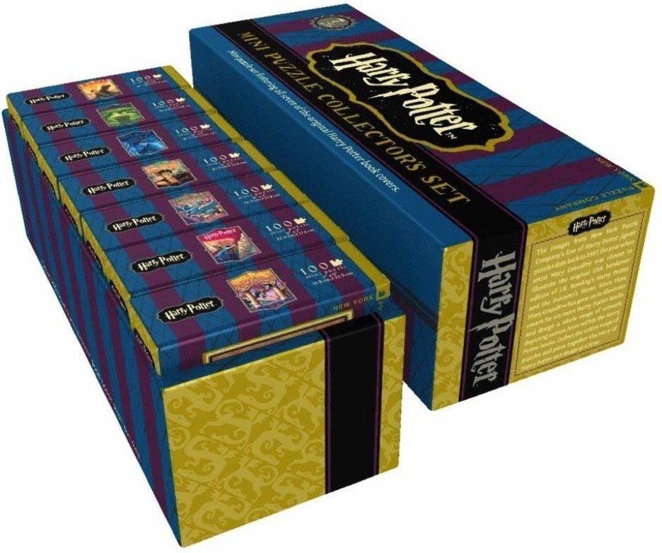 Колекционерски сет мини пъзели New York Puzzle от 100 части - Хари Потър - 3