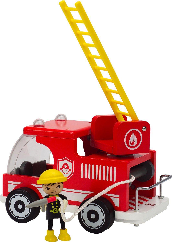 Пожарна кола Hape от дърво - 2