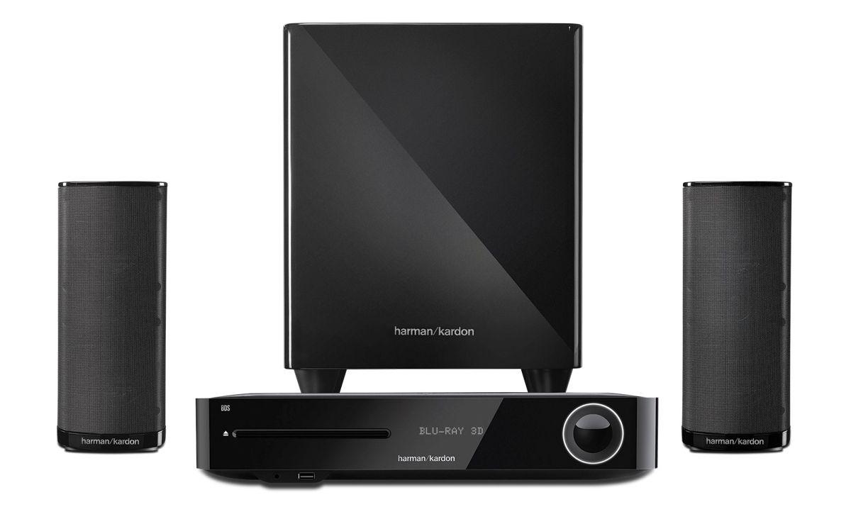 Аудио система harman/kardon BDS 380 - 2.1, черна + 3D Blu-ray плейър - 5