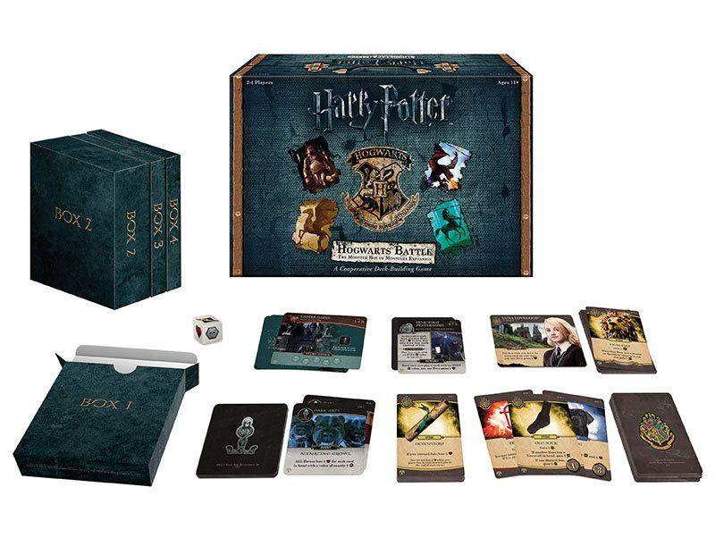 Разширение за настолна игра - Harry Potter Deck-Building - The Monster Box of Monsters - 2