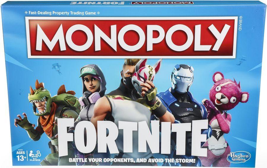 Настолна игра Hasbro Monopoly - Fortnite - 4