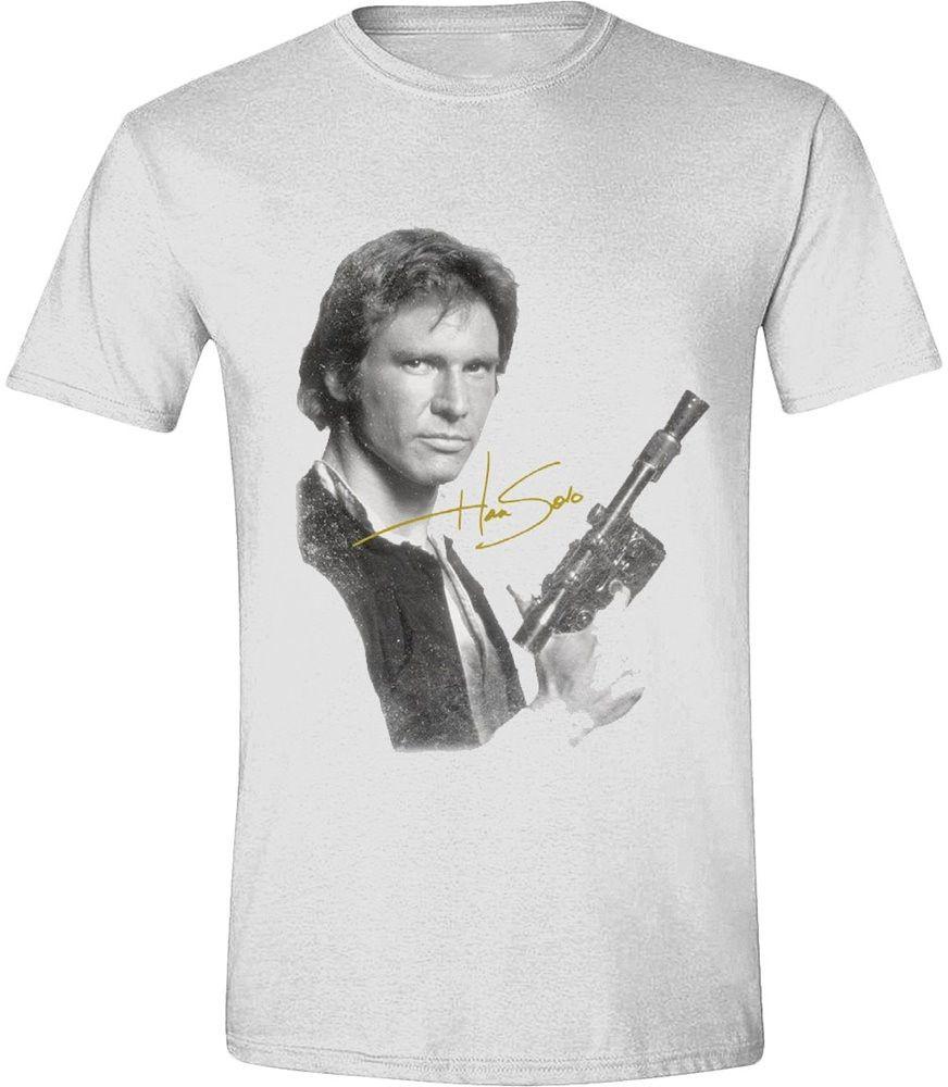 Тениска Timecity Star Wars - Han Solo Portrait  - 1