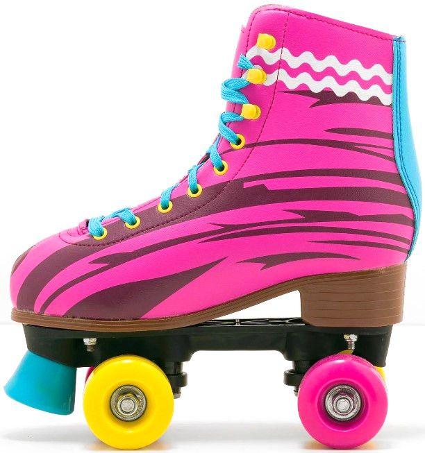Ролкови кънки Fun Kids Sunny - 34, розови - 2