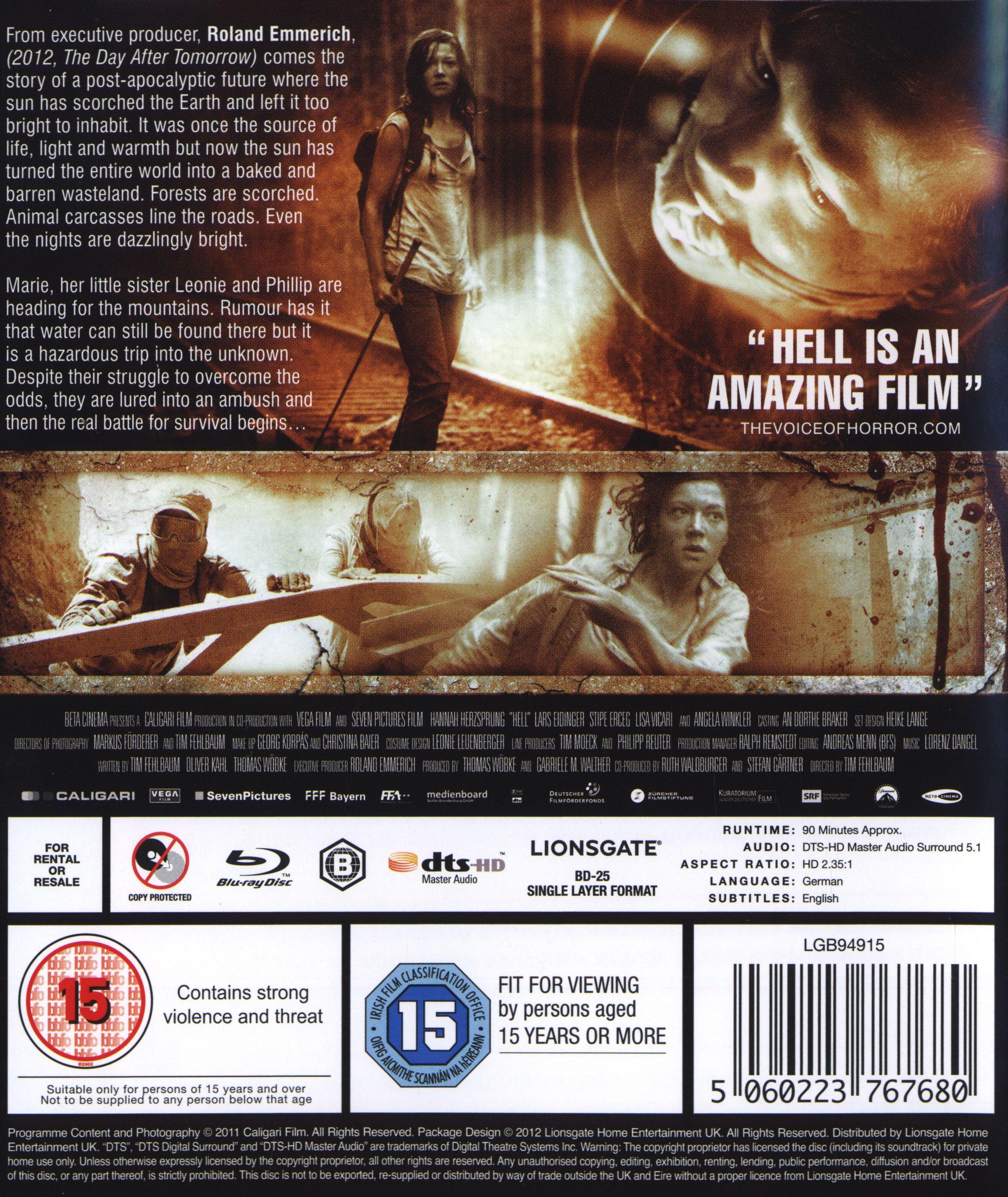 Hell (Blu-Ray) - 2