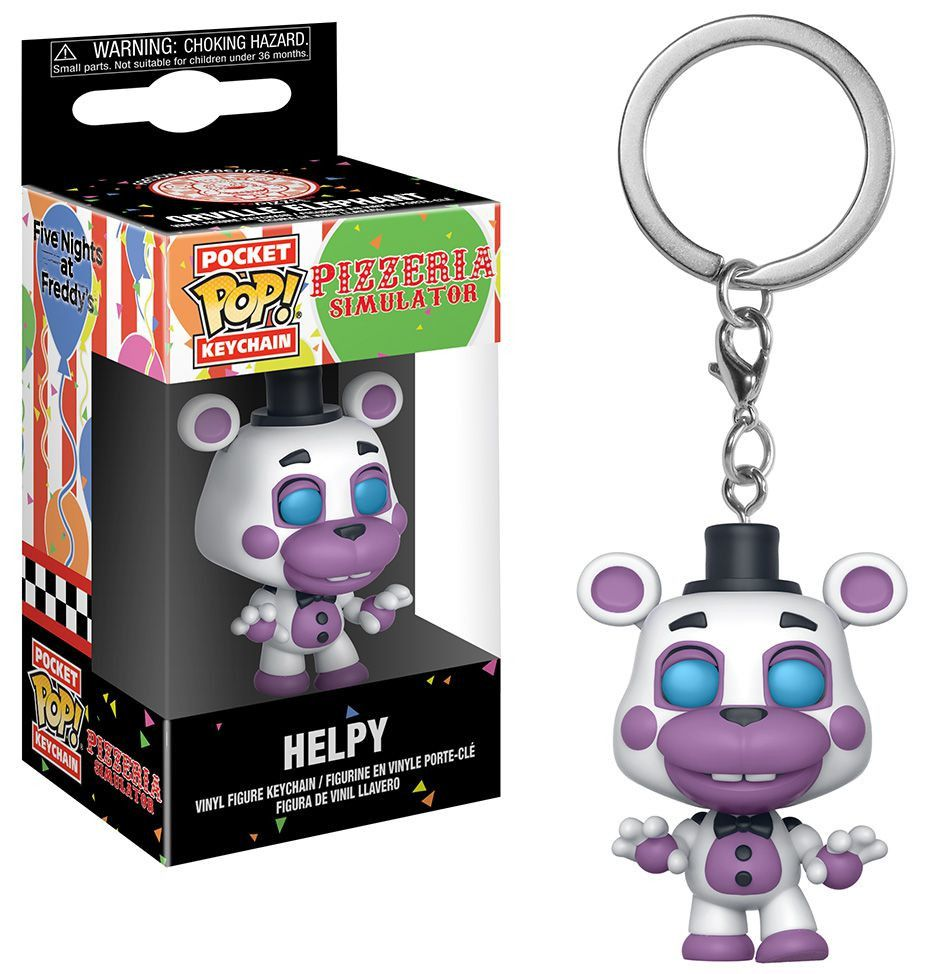 Ключодържател Funko Pocket Pop! Five Nights at Freddy's Pizza Simulator - Helpy - 2