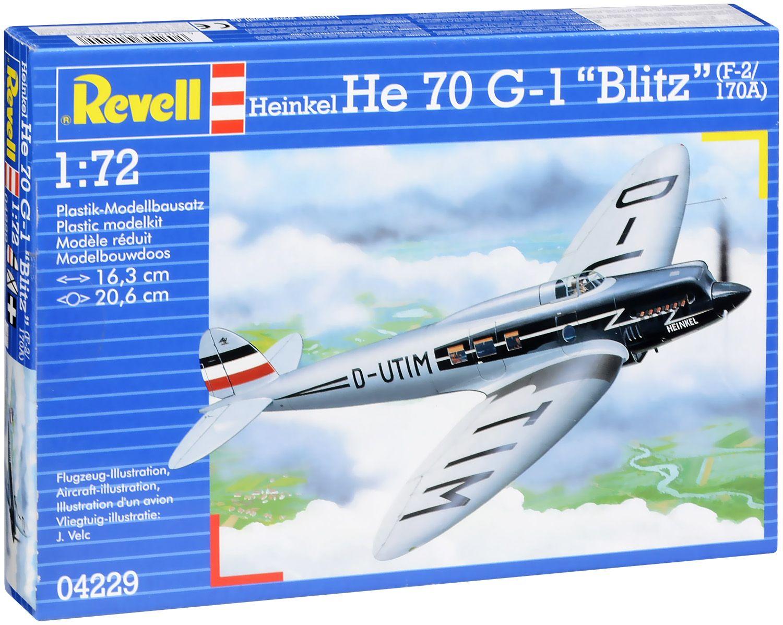 """Сглобяем модел Revell - Самолет Heinkel He 70 G-1 """"Blitz"""" (04229) - 1"""