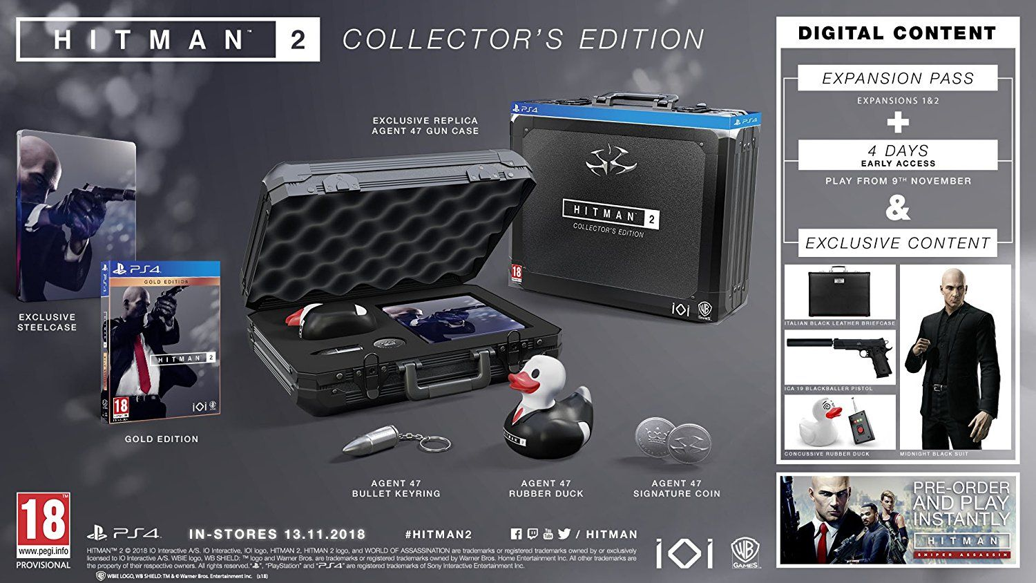 Hitman 2 Collector's Edition (PS4) - 5