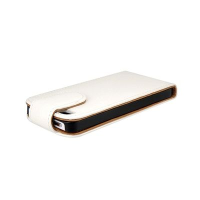 Holsten Leather Case за iPhone 5 -  бял - 3