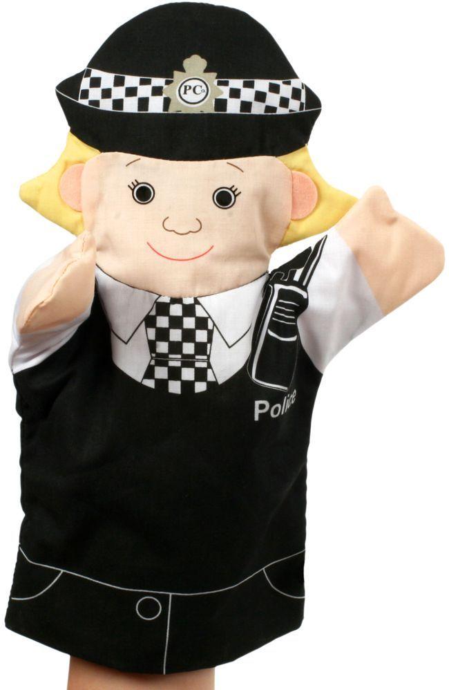 Кукла за куклен театър The Puppet Company - Хората, които помагат: Полицайка - 1