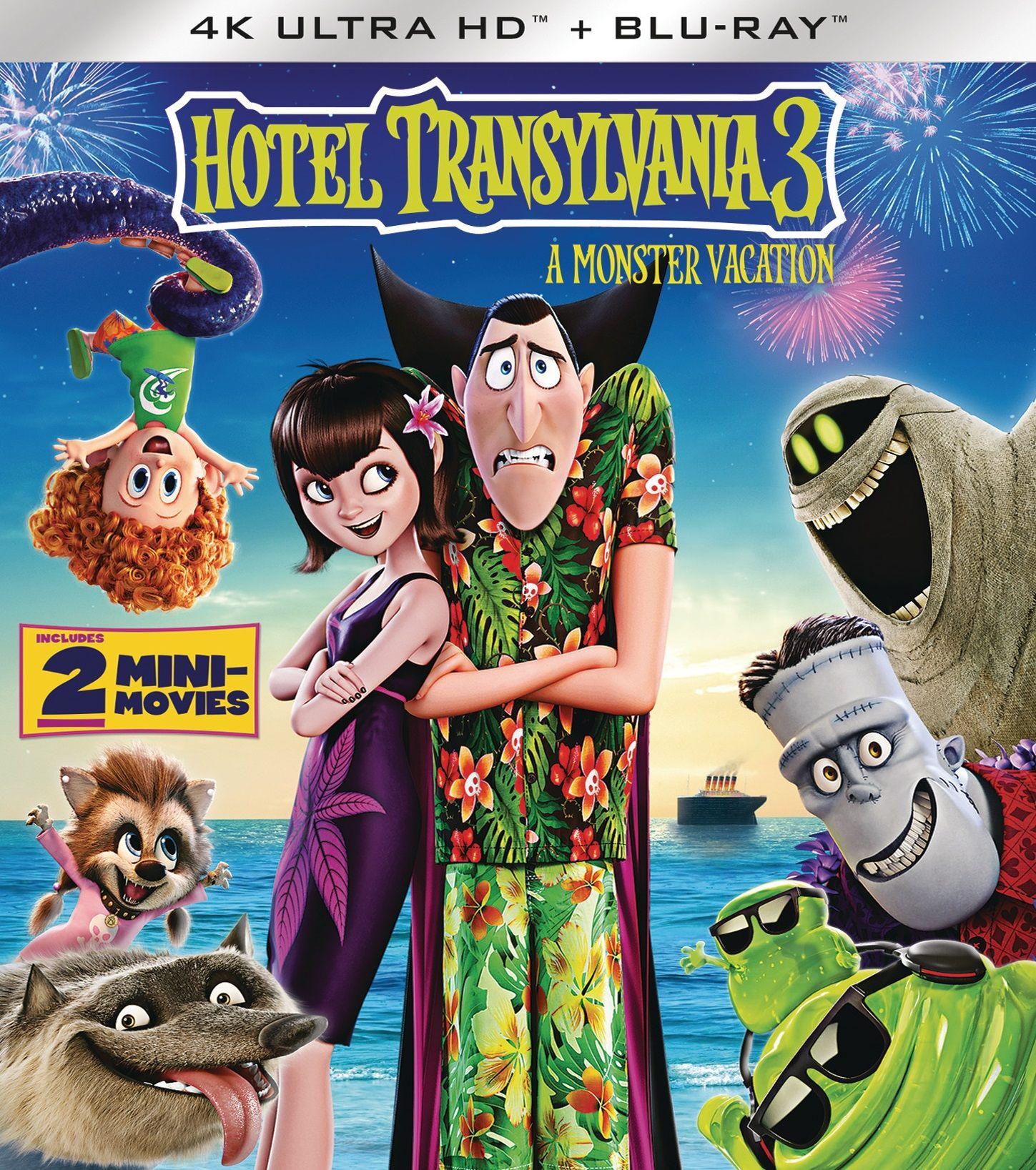 Хотел Трансилвания 3 (4K UHD Blu-ray) - 1