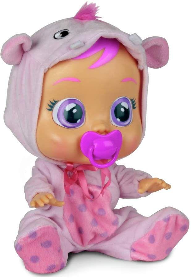 Плачеща кукла със сълзи IMC Toys Cry Babies - Хоупи, хипопотамче - 1