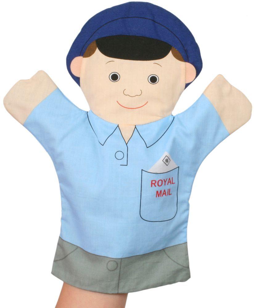 Кукла за куклен театър The Puppet Company - Хората, които помагат: Пощальон - 1