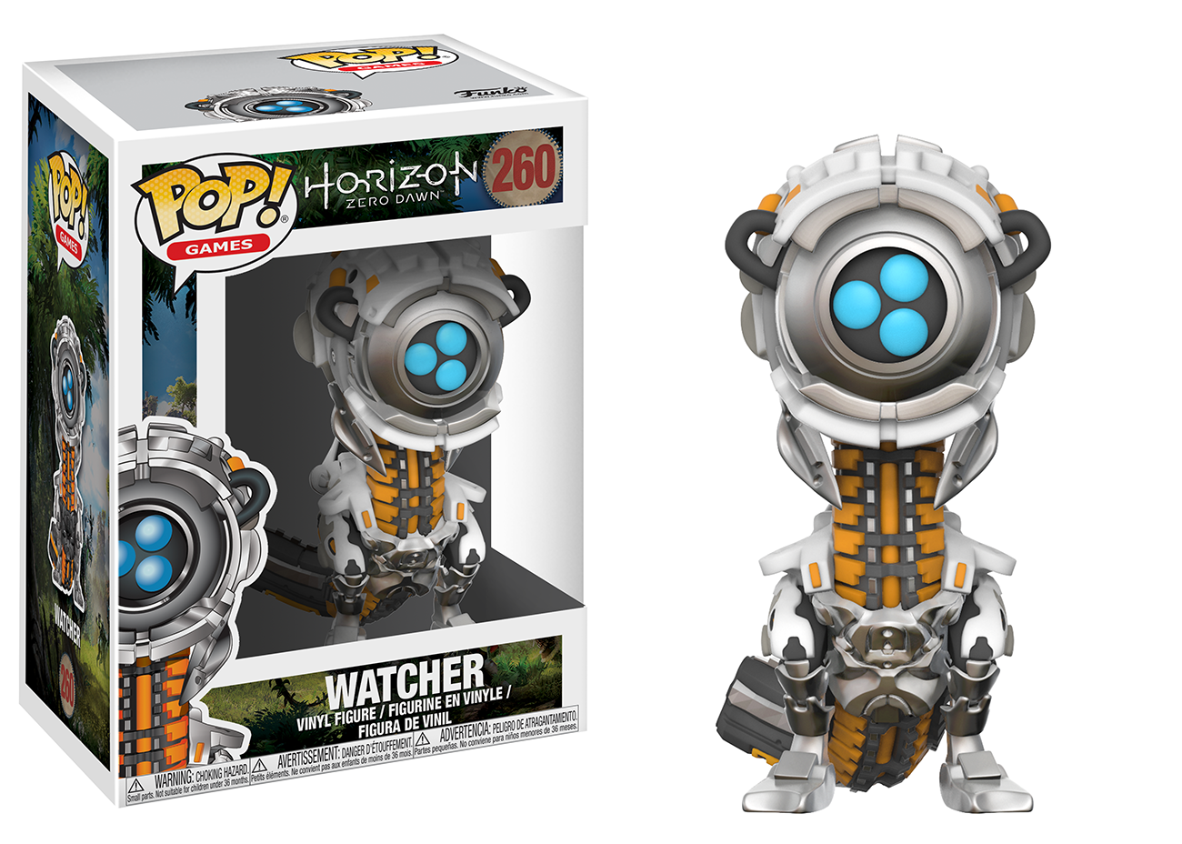 Фигура Funko Pop! Games: Horizon Zero Dawn - Watcher, #260 - 2