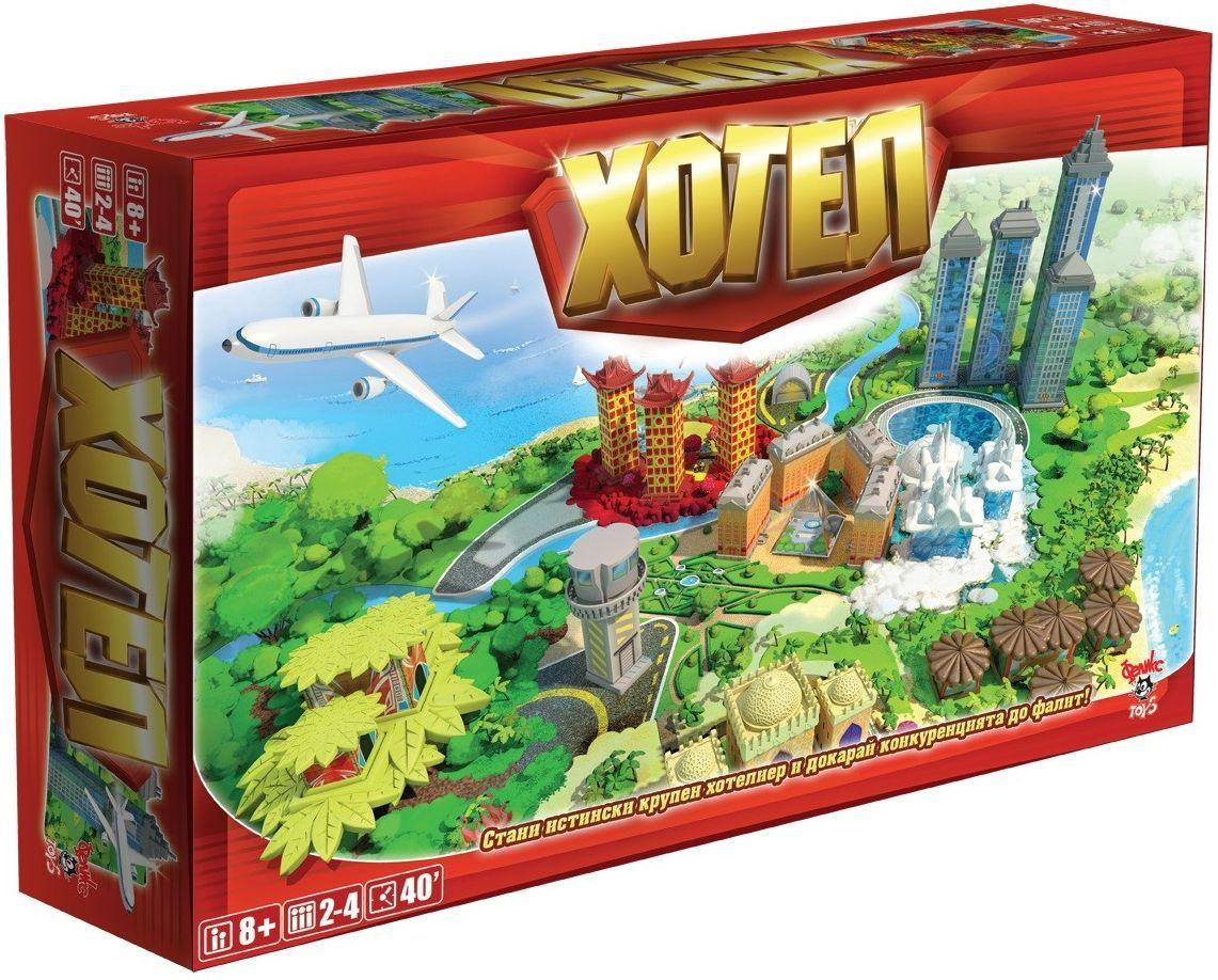 Настолна игра Asmodee - Хотел - 1