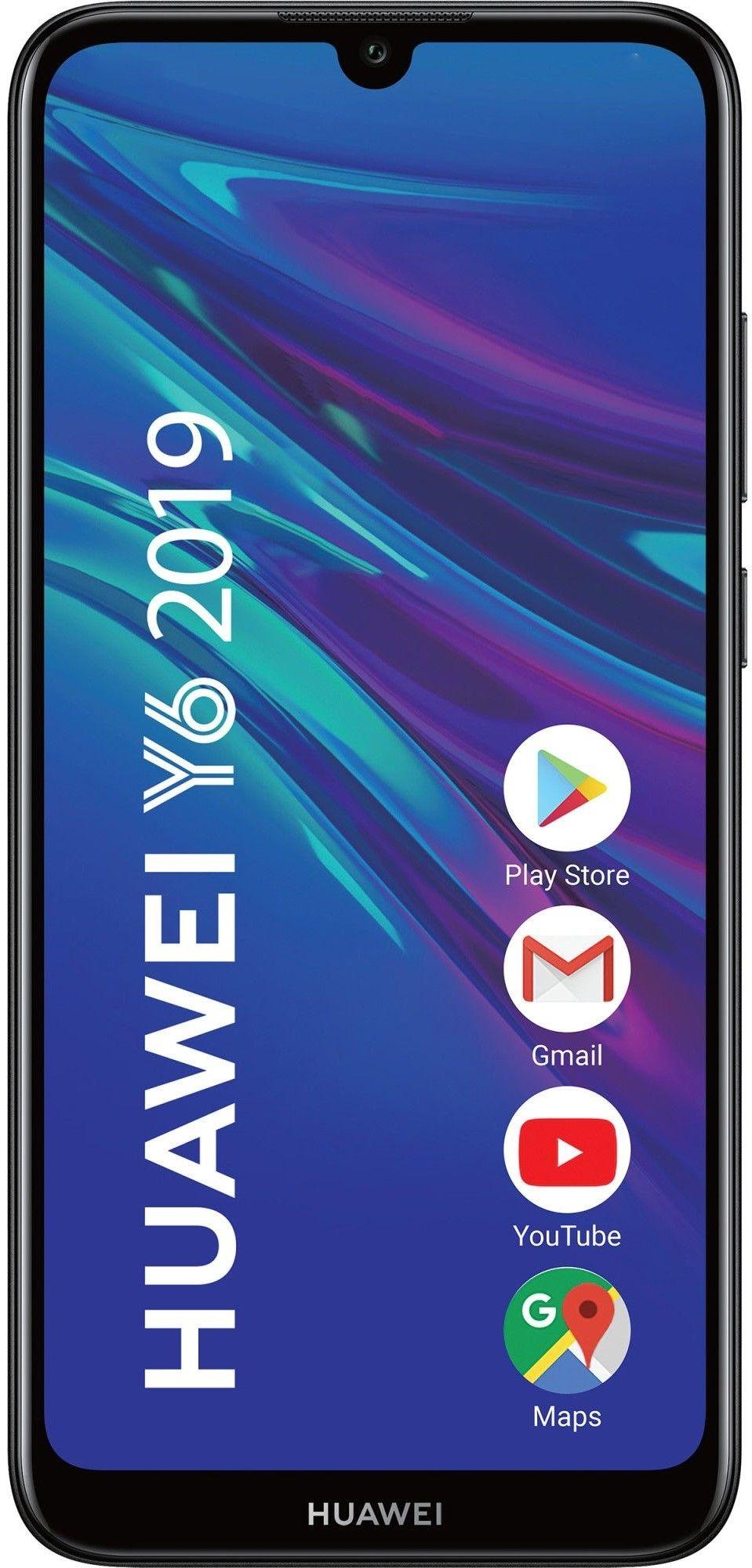 "Смартфон Huawei Y6 - 6.09"", 32GB, черен - 1"