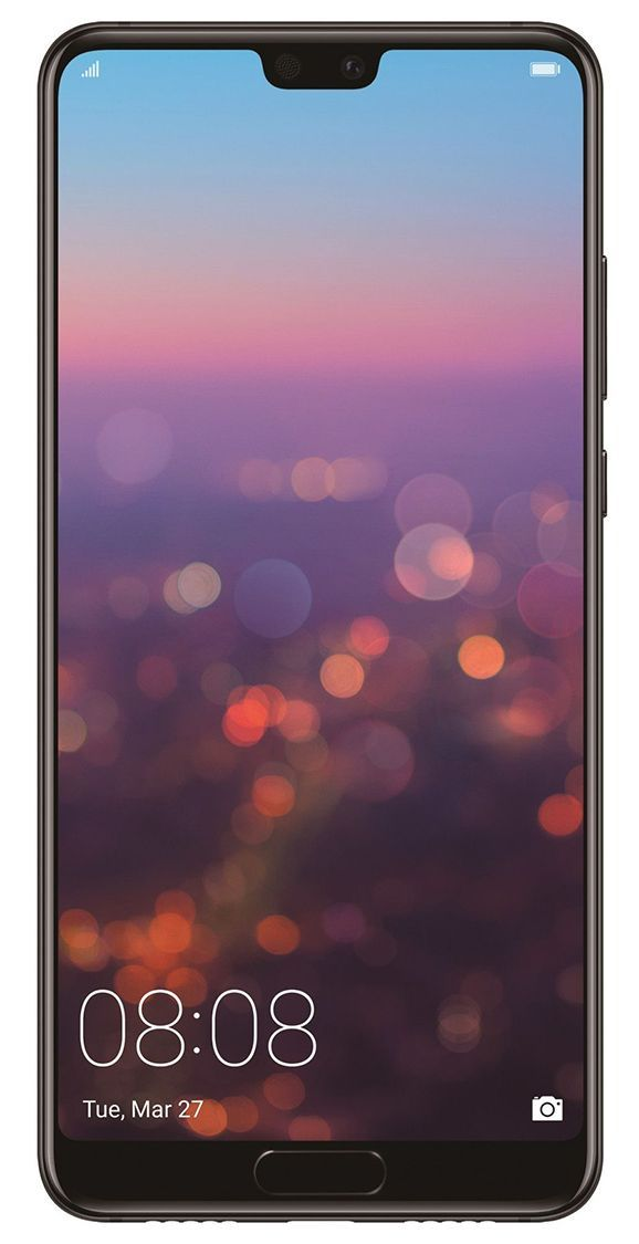"""Смартфон Huawei P20, Dual SIM, EML-L29C, 5.8"""", Черен - 1"""