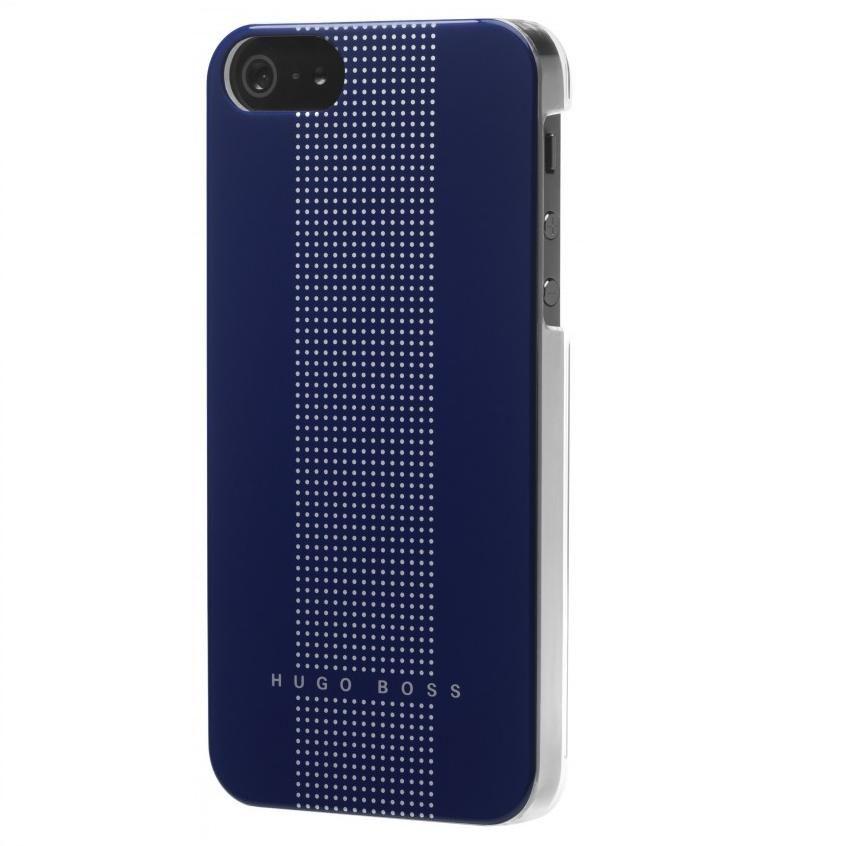 HUGO BOSS Dots Hardcover за iPhone 5 -  син - 1