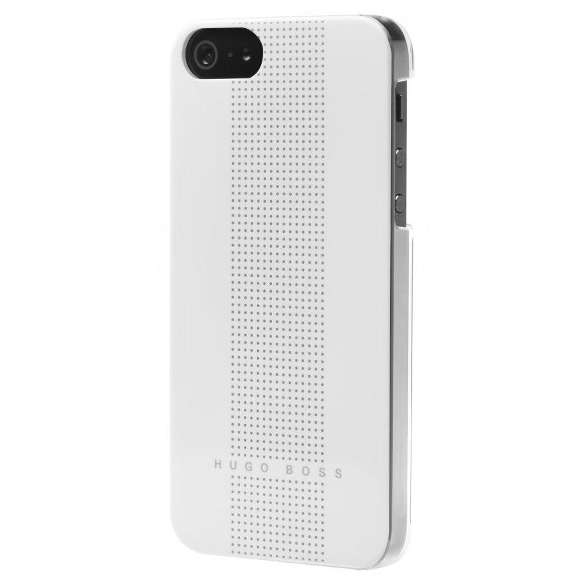 HUGO BOSS Dots Hardcover за iPhone 5 -  бял - 2