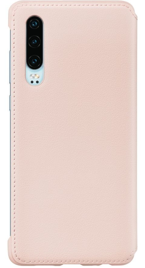 Калъф Huawei Elle P30 - Wallet Cover, розов - 2