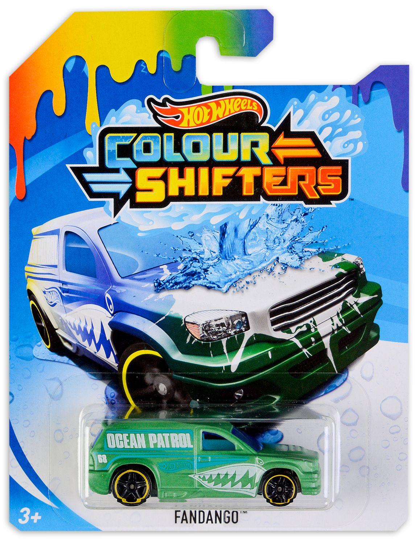 Количка Hot Wheels Colour Shifters - Fandango, с променящ се цвят - 1