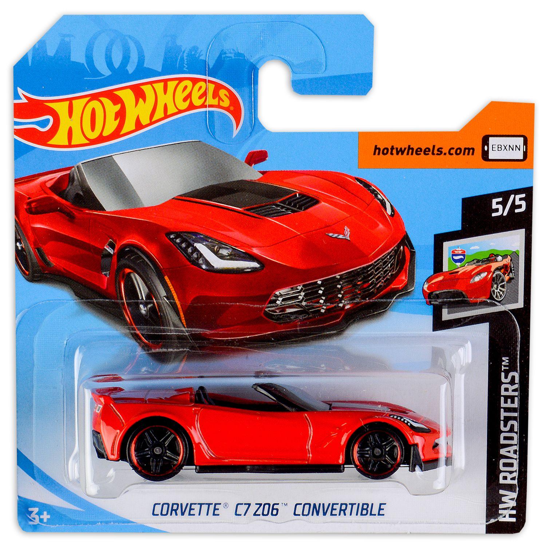 Количка Hot Wheels - Corvette C7 Z06 - 1