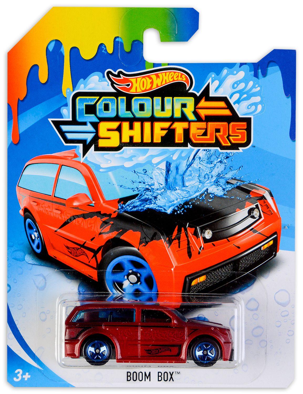 Количка Hot Wheels Colour Shifters - Boom Box, с променящ се цвят - 1