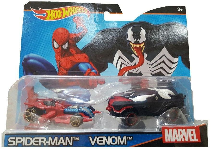 Комплект Mattel Hot Wheels - Spider-Man и Venom - 1