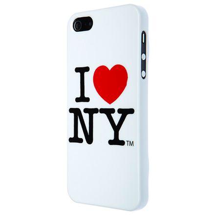 I love New York за iPhone 5 -  бял - 1