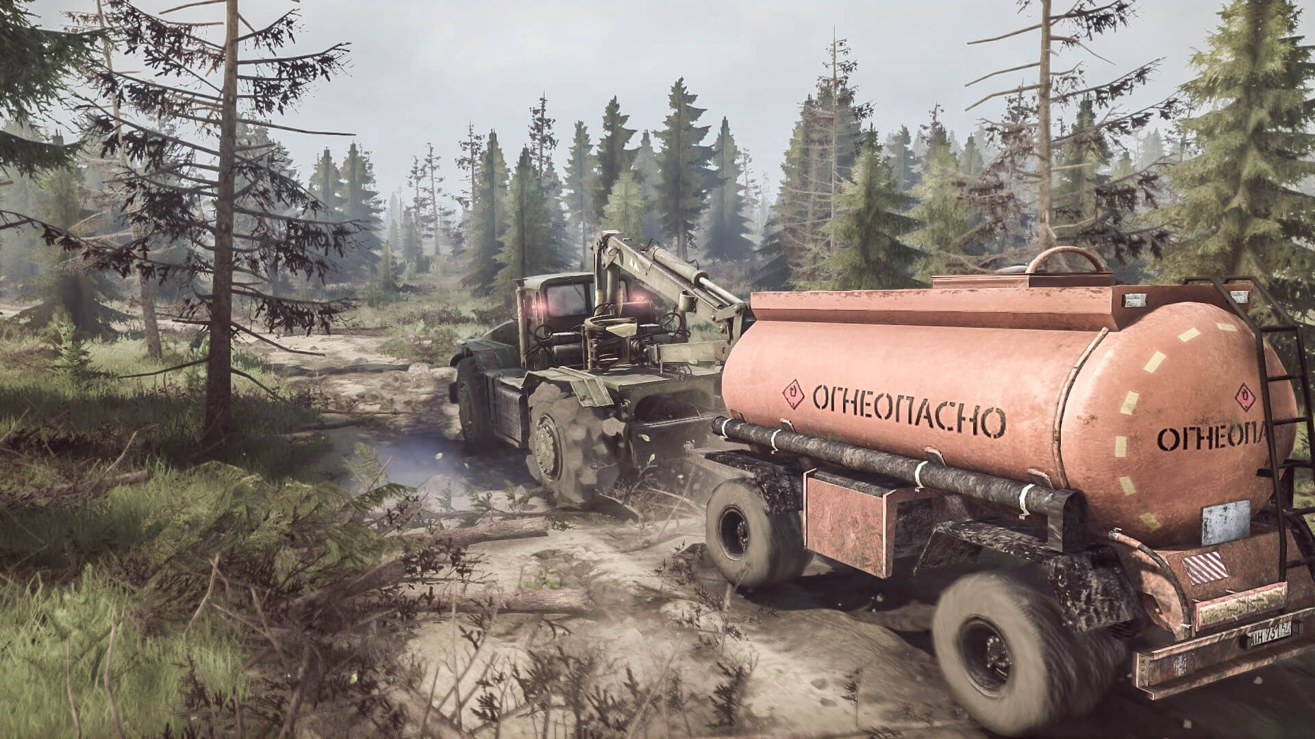 Spintires Mudrunner - American wilds Edition (PC) - 5