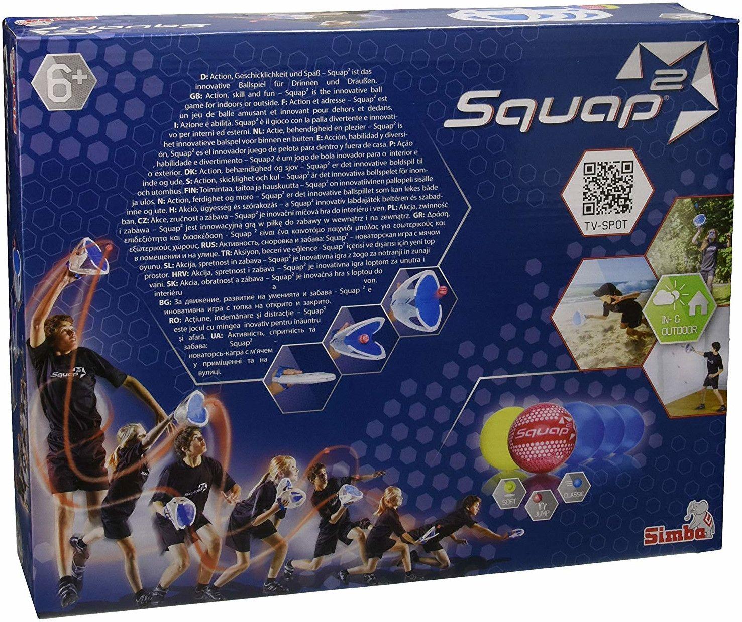 Забавна игра с топчета Simba Toys - Squap 2 - 5