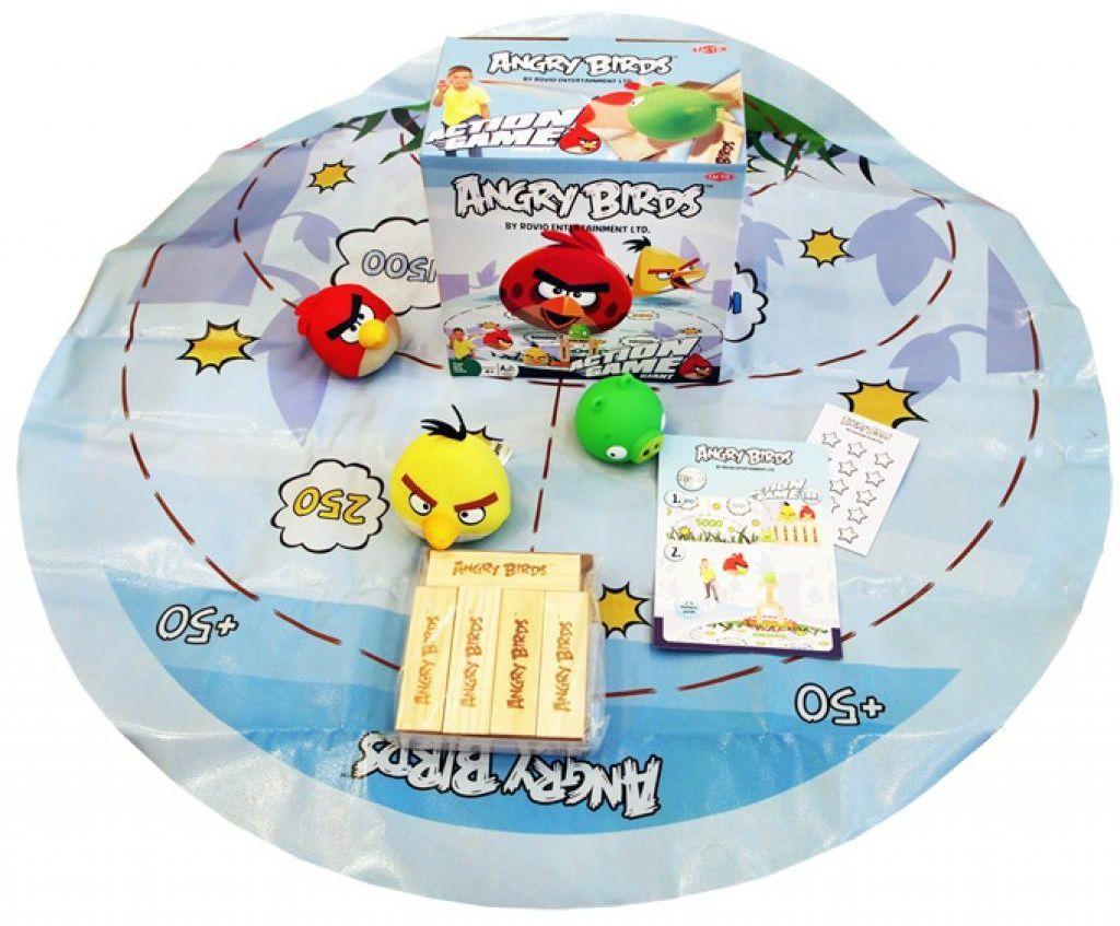 Детска настолна игра Tactic - Angry Birds - 1