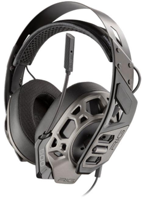 Гейминг слушалки Plantronics - RIG 500 PRO HX Special Edition, черни - 1