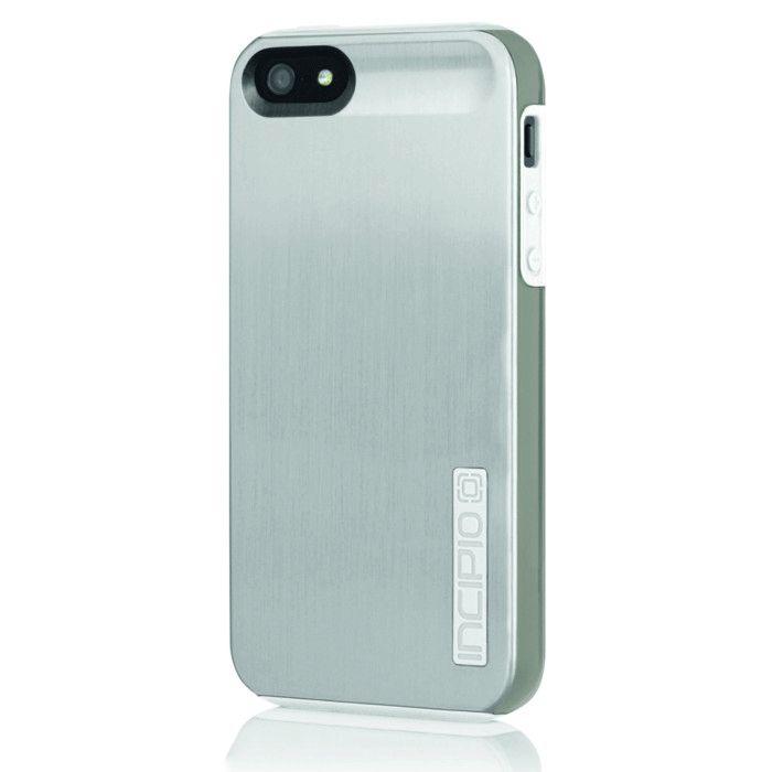 Калъф Incipio Dual Pro Shine за iPhone 5, Iphone 5s -  сиво-бял - 1