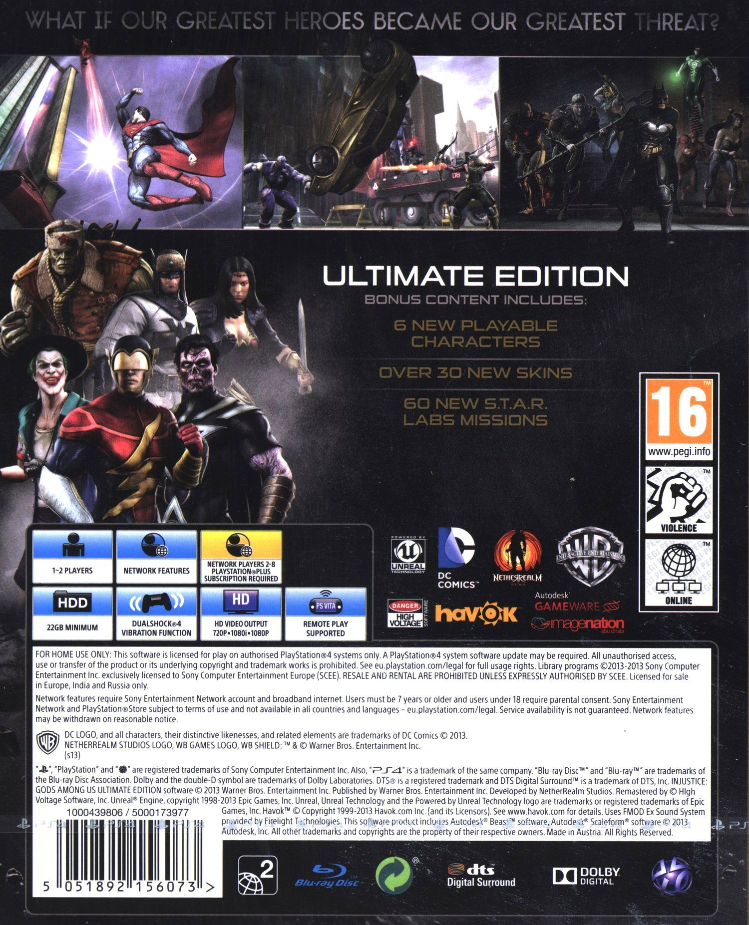 Injustice: Gods Among Us - Ultimate Edition (PS4) - 7