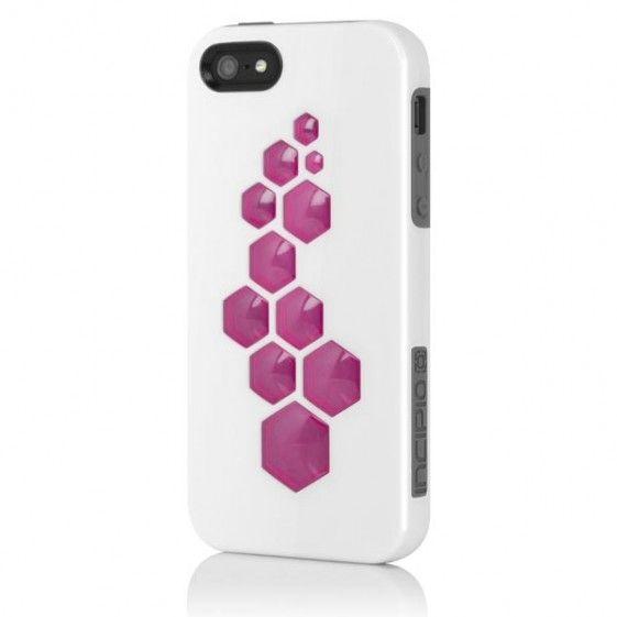 Incipio Code за iPhone 5 -  бяло-сив - 1