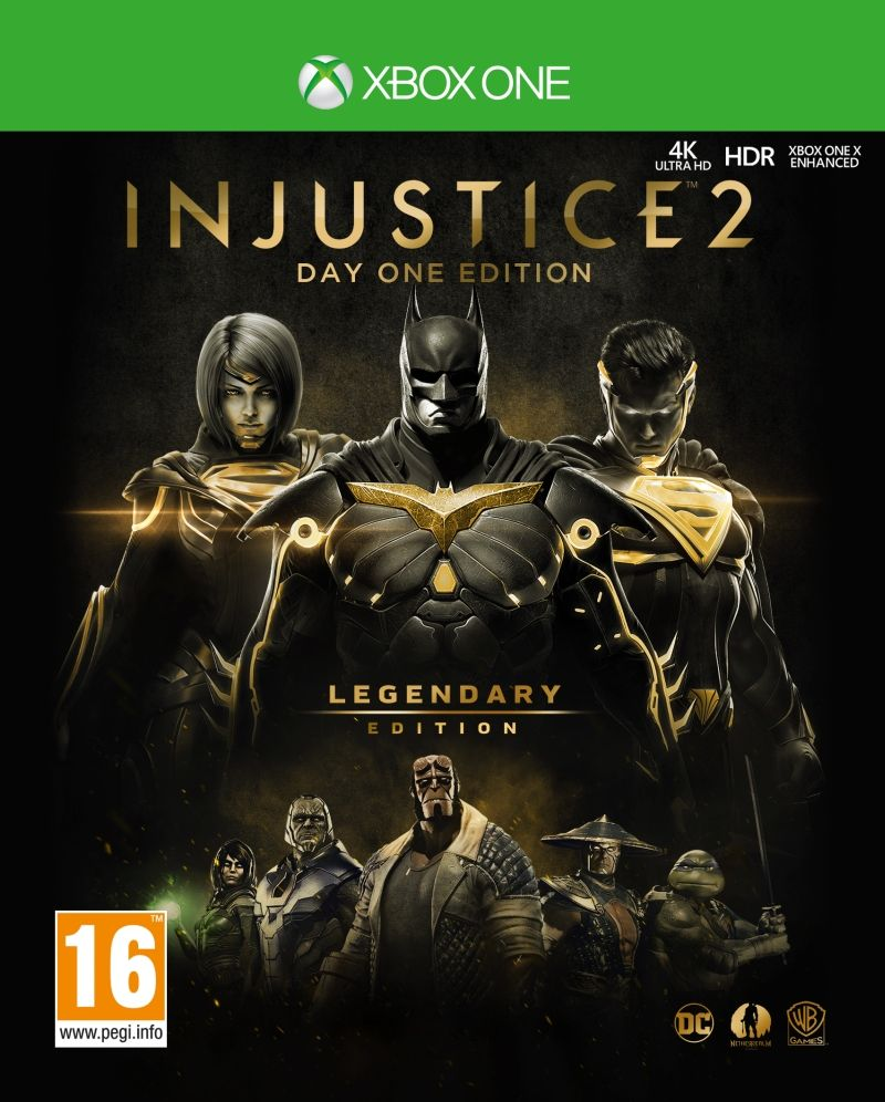 Injustice 2 Legendary Steelbook Edition (Xbox One) - 1